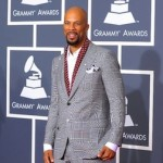 Common at the 2010 Grammy awards. (Getty Images)