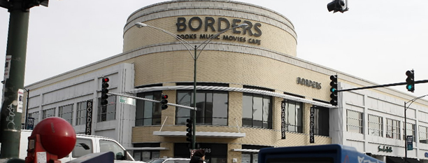 chicago tribune freedom center north chicago illinois. A Borders bookstore at North