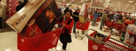 Shoppers at a Target on Elston Ave. (Phil Velasquez/Chicago Tribune)