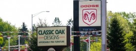 A Viking Dodge dealership in Crystal Lake that closed in 2009. (Stacey Wescott/Chicago Tribune)