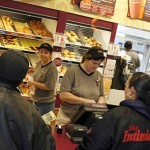 Busy morning at the Dunkin Donuts franchise in the village of Posen. (Zbigniew Bzdak/Tribune)