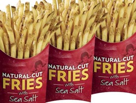 Wendy's natural cut fries debuted in November. (Wendy's/Arby's)